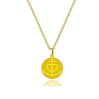 AONED 14K Gold Plated Dainty Layering Paperclip...