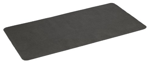 Diversitech Gas Grill Splatter Mat Outdoor Gas Grill BBQ Floor Mat - Absorbent, Place Under Grill - Protects Decks and Patios 60 x 30 Inches Black
