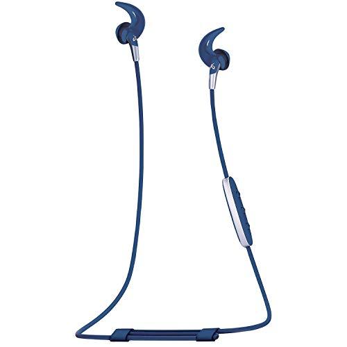 Jaybird Freedom 2 in-Ear Wireless Bluetooth Sport Headphones Earbuds w/Inline Controls, Charging Clip, Battery Pack - Light Blue - 985-000783
