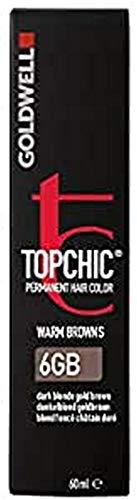 Goldwell Topchic Haarfarbe dunkelblond goldbraun 6GB, 1er Pack (1 x 60 ml)