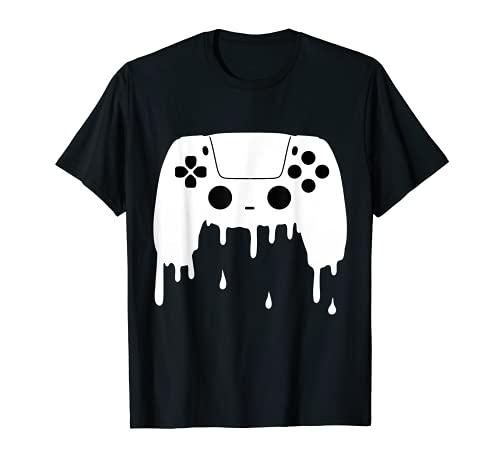 lustig Gaming Gamer Controller Pad cool Print Zocken Zocker T-Shirt
