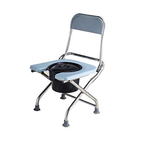 Hygiënische klapstoel, licht, met toilet of hanger, robuust, hygiënisch, eenvoudig gewatteerd, comfortabel.