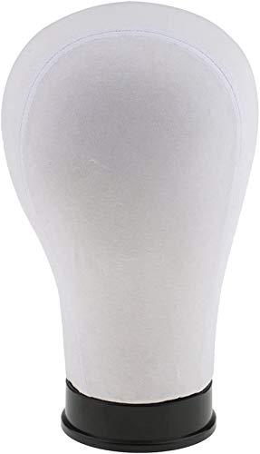 Mannequins de couture reglable Fixation Perruque modèle liège tête Mannequin Toile Bloc Pins tête Plaque inférieure 21\