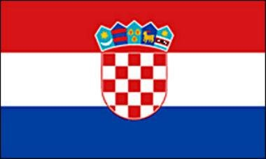 Croatie drapeau 90 x 150 cm