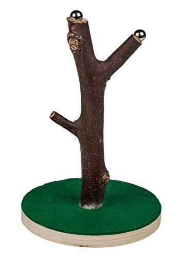 Out of the Blue 79/3921 - Magnetischer Kronkorkensammler Baum, Standfuß aus Holz, ca. 9 x 15 cm, aus Polyresin, im Geschenkkarton