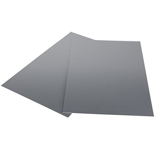 Neewer Extra Large Size 2 Gray Card Set, 19.2x9.84 inches/49x25centimeters Balance Card/Calibrated Reference Card for Digital and Film Photography