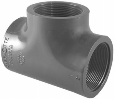 CHARLOTTE PIPE & FOUNDRY PVC 08402 1600HA 1-1/4 Sch80 Tee by Charlotte Pipe and Foundry