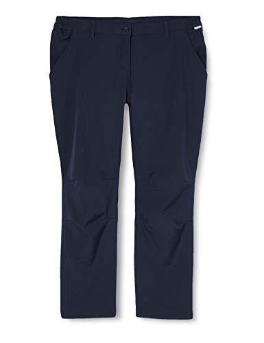 Regatta Fenton Water Repellent and Wind Resistant Softshell Short Leg Pantalons Femme, Bleu Marine, Taille 34