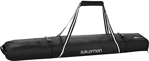 サロモン(SALOMON) スキーケース スキースリーブ JP EXTEND 1P 155+20 SKIBAG Black/Light Onix L39111500