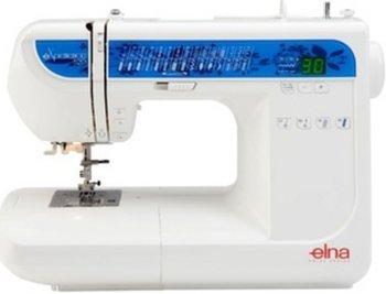 Elna eXperience 520 Nähmaschine mit vollautom. Knopflöcher 6mm Stichbreite, Einfädler