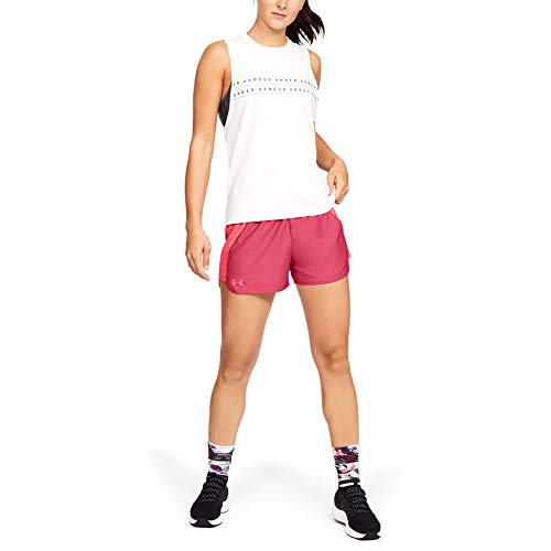 Under Armour Damen Play Up Short 2.0 atmungsaktive Sporthose, komfortable Sportshorts mit loser Passform