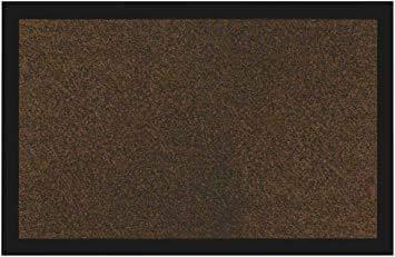 Sforza Zerbino Asciugapasso Ingresso Casa - Tappeto Entrata Interno, Esterno - qualità Top Testato - Made in Italy - Marrone - 120x180 cm