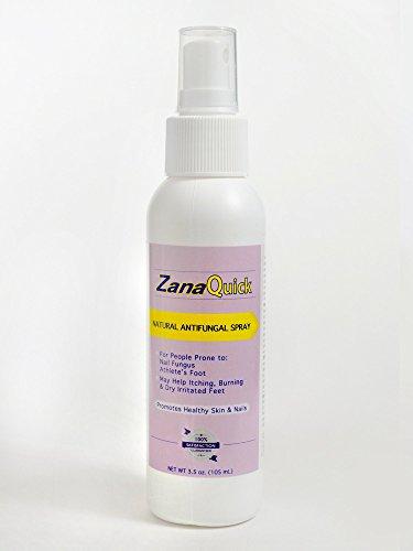 Zanaquick Natural Antifungal Spray - Nail Fungus Treatments - Athletes Foot Remedies - Antifungals