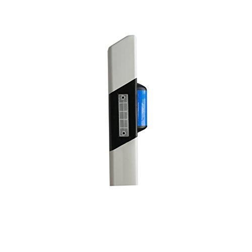 ZEITWISE Wildwarner blau | Blauer Wildreflektor | Wildtierampel | Straßenpfosten | Leitpfosten | Reflektor 100 Stück