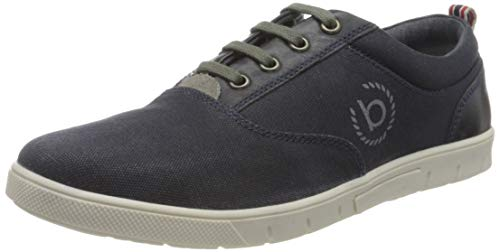 bugatti Herren 323523076900 Schnürer Sneaker , Dark Blue , 44 EU