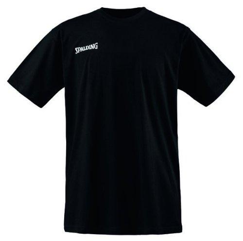 Spalding Basic Maglietta da uomo, Nero, L