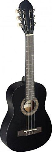 Stagg C4051/4Klassische Gitarre–schwarz 1/4 schwarz