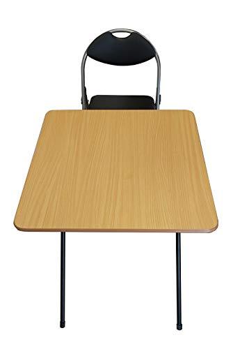 Set mit Klapptisch und Stühlen, für die Arbeit von zu Hause, Computer, Laptop, Studium, Esszimmer, Terrasse, Stuhl