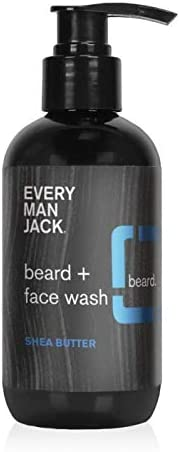 Every Man Jack Beard Face Wash Shea Butter 6 7 ounce 1 Bottle Naturally Derived Parabens free product image