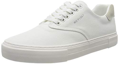 Marc O'Polo Herren 00325563504800 Sneaker, Weiß (Offwhite 110), 43 EU