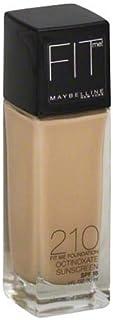 Maybelline Fit Me Foundation - 30 ml, 210 Sandy Beige