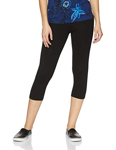 ONLY Damen Laufhose Fold Jazz Knickers Fit Sport Leggings, Schwarz (Black Black), W(Herstellergröße:XL)