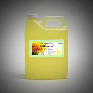 32 Oz / 1 Quart Premium Safflower OIL High Oleic Organic 100% Pure