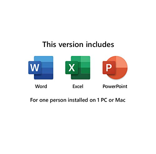 Microsoft Home and Student 2019, One-Time Purchase - Lifetime Validity, 1 Person, 1 PC or Mac (Activation Key Card) 2