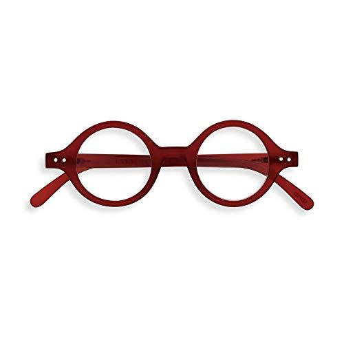IZIPIZI #J Red Round Reading Glasses