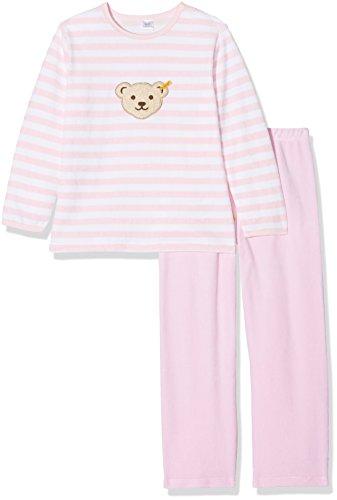 Steiff Jungen Pyjama Nicky Schlafanzug 2 tlg. 0006575, Rosa (Barely Pink 2560), 92