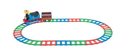 Situ? ? ?tre dans un cercle c'est passager ?lectrique Thomas le moteur de r?servoir standard d?fini pour l'extension du chemin de fer (le japon ? l'importation)