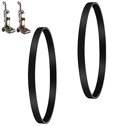 MULTIM Vacuum Cleaner Belts Compatible with Hoover FH51000, FH51001, FH51002 Series Replacement Mylar Non Stretch Belts Genuine Part # 440005536 (2 Pack)
