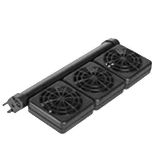 KJ-KUIJHFF - Ventilador de enfriamiento para tanque de peces, disipación de calor silencioso, enfriamiento de enfriamiento de alimentos para peces y biología acuática