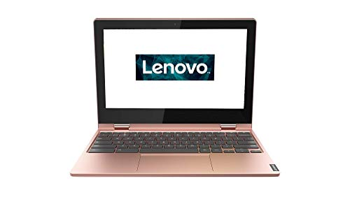 Lenovo Chromebook C340 Laptop 29,5 cm (11,6 Zoll, 1366x768, HD, IPS, Touch) Convertible Notebook (Intel Celeron N4000, 4 GB RAM, 64GB eMMC, Intel UHD-Grafik 600, ChromeOS) rosa