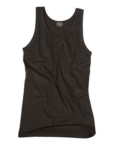 Mil-Tec Camiseta De Tirantes, negro - algodón, Negro, 100% algodón, hombre, XXL