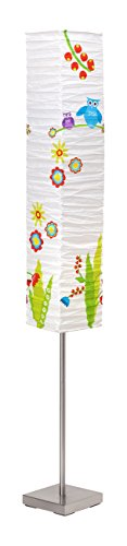 Brilliant AG 92603/80 Brilliant Lampadaire Birds 2 x E14, Papier, 40 W, Multicolore