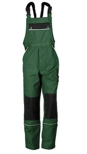 TMG Latzhose Arbeitshose Berufsbekleidung Canvas 320 g/m² (64, grün)