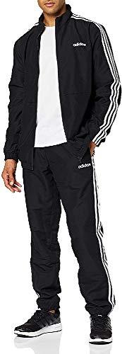 adidas 3-Streifen Trainingsanzug BLACK/BLACK M/S