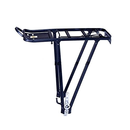 AITAOZI Rack económico de Portador de Bicicletas, Ajuste Ajustable para 26'/ 28' / 24', Acero, Negro