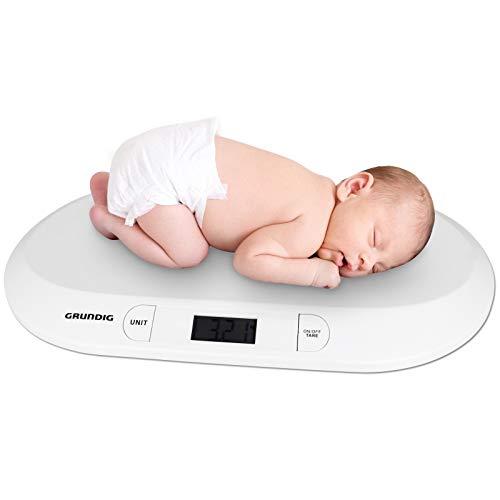 Grundig Babywaage 20kg - LCD Display - Digitalwaage - Waage