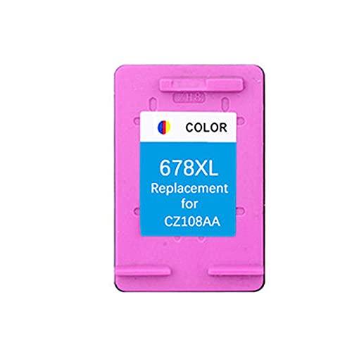 YXYX Compatible para el reemplazo de Cartucho de tóner HP678XL para HP DeskJet 1018 1515 2515 2545 1015 1515 2548 2645 2648 3515 3545 3548 Toner Tinta de la Impresora, co Color