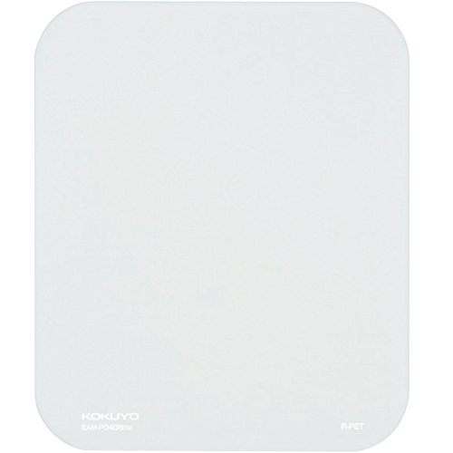 コクヨ マウスパッド 再生PPタイプ 白 EAM-PD40TW