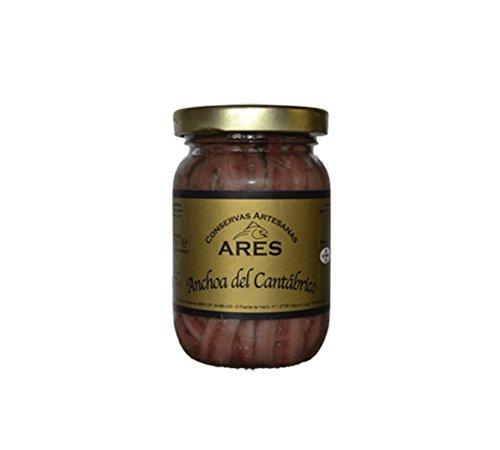 Anchoas del Cantábrico sobadas a mano en aceite de oliva virgen extra 220 Gr.