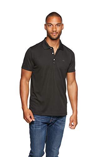 Jeff Green Herren Atmungsaktives Funktions Poloshirt Eclipse, Größe - Herren:XL, Farbe:Black