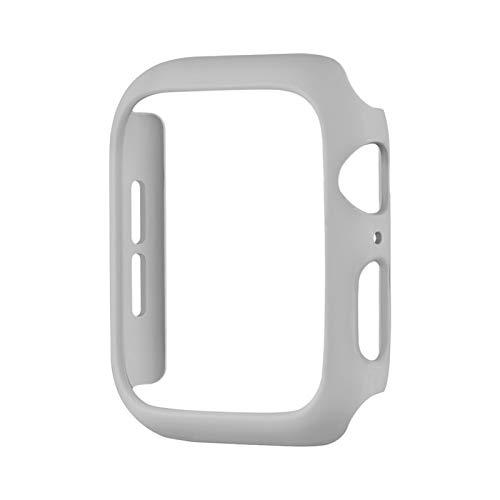 DLCYMY Fashion Color PC Funda Dura para el Reloj de Apple SE Serie Cubierta de la Cubierta 6 5 4 3 Matte Bumper 40mm 44mm 38mm 42mm para cáscara Protectora de iWatch