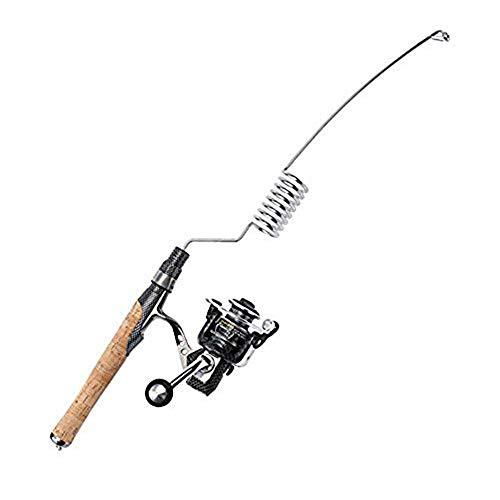 Emmrod Elastic Fishing Rod and Reel Combos 1000 Type All Metal Spinning Wheel Cork Handle Sea Pole Ultra Short Portable Fishing Rod MZ-8C-SG
