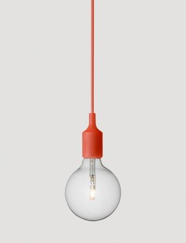 Lampada Muuto E27 colore rosso