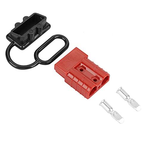 Kuuleyn Kit de Enchufe de arnés de Cables de 5 Piezas 50A, Kit de Enchufe de arnés de Cables de desconexión rápida de batería de Calibre 6-8 para cabrestante o Remolque de recuperación