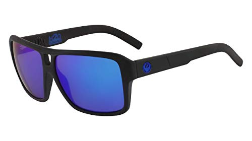 Dragon DR THE JAM LL MI H2O Gafas de sol, Color negro mate, 60mm, 13mm, 135mm para Hombre