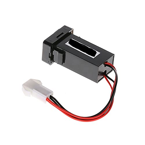 ZIMEI MEIKAI Cargador De Coche 1 2V 4.2A Doble USB 2 Adaptador Encendedor De Socket De Puerto Ajuste para Toyota Corolla